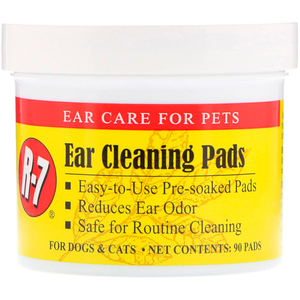بودرة الأذن وفوط تنظيف الأذن