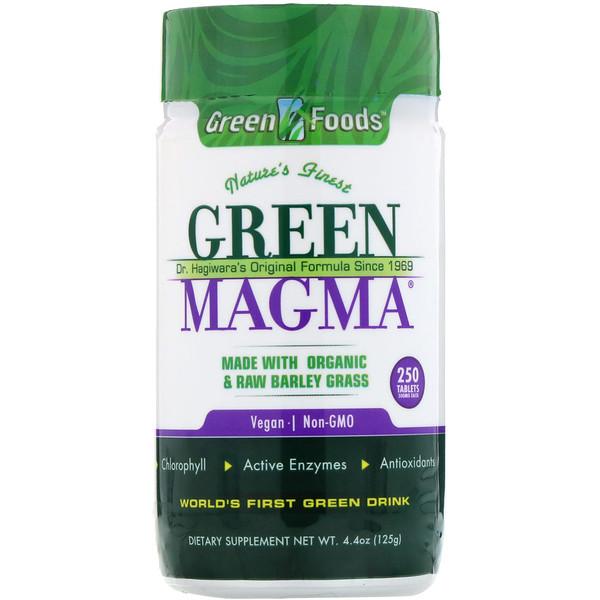 Green magma وGreens Plus