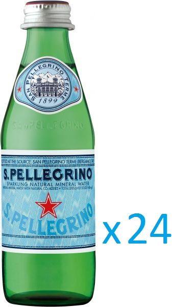 فو - صوص أيس كريم وبيللغرينو مياه معدنية