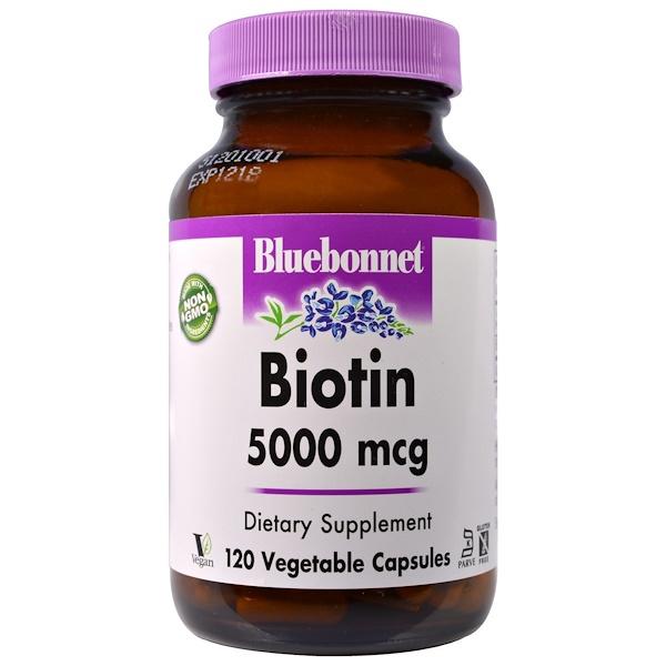 بيوتين كبسولات و biotin by Nature's Bounty