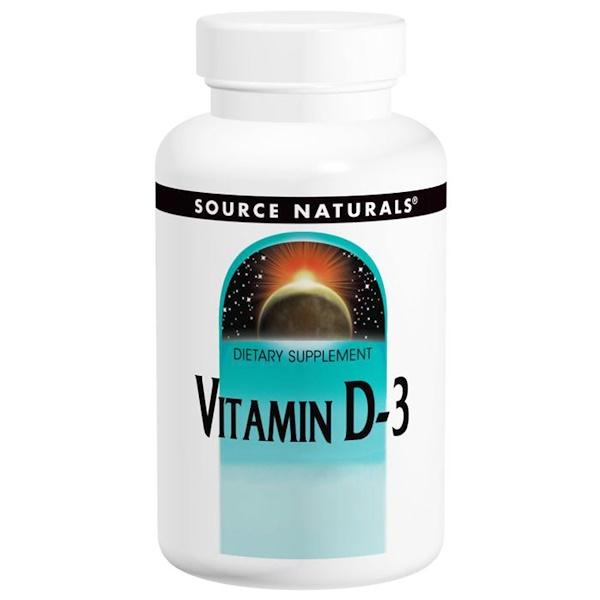 source naturals vitamin d3 و vitamin c 500 mg