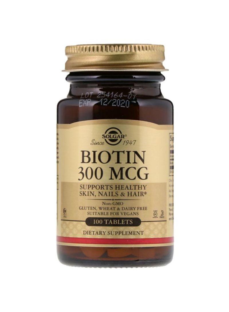 21 century biotin biotin 300 mcg