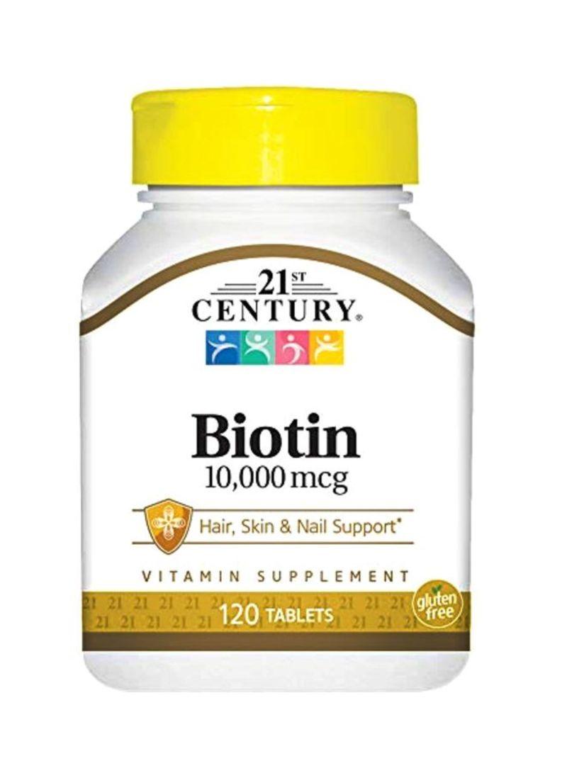 21st century biotin و sundown naturals