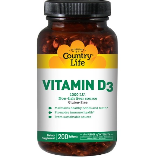 country life vitamin d3l